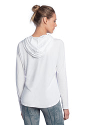 Maaji Jolly White Hooded Layer