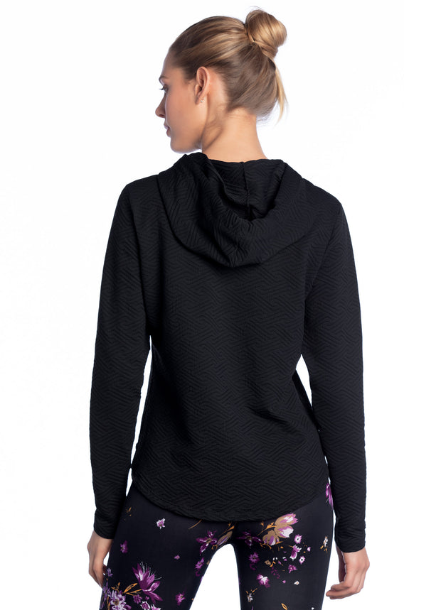 Maaji Trust Black Hooded Layer