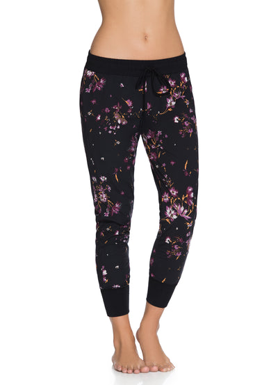 Maaji Free Wildflowers Black Jogger