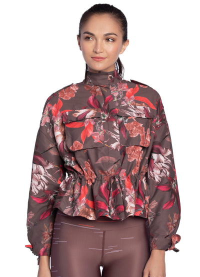 Maaji Conquest Flora Amaranth Jacket Limited Edition