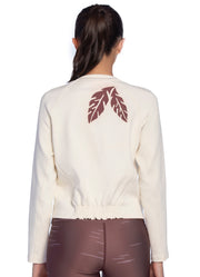 Maaji Engage Ivory Sweatshirt