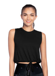 Maaji Twinkle Black Tank Top