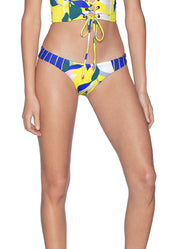 Maaji Waterlily Flirt Thin Side Reversible Bikini Bottom