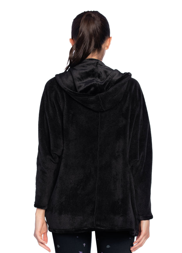 Maaji Rejoice Black Hooded Layer