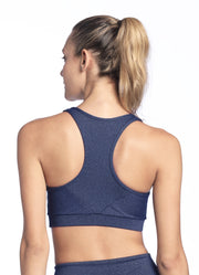 Maaji Fanatic Pure Space Medium Impact Sports Bra