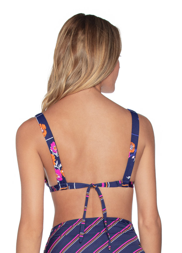 Maaji Island Parade Reversible Triangle Bikini Top