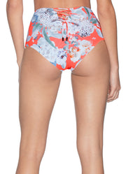 Maaji Bouquet Darling Reversible High Waisted Bikini Bottom