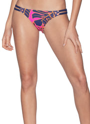 Maaji Flowering Split Reversible Bikini Bottom