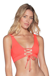 Maaji Coral Reef Allure 4 Way Bikini Halter Top