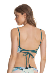 Maaji Rainforest Green Pilot Triangle Bikini Top