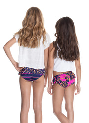Maaji Loop Papaya 4-ways Reversible Girls Swimsuit