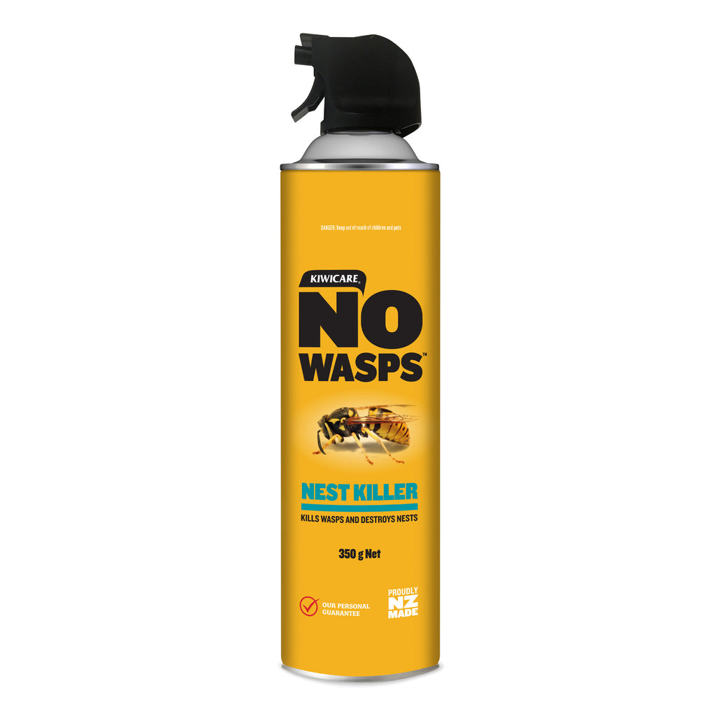 Kiwicare NO Wasps Nest Killer Aerosol for Paper Wasp Nests