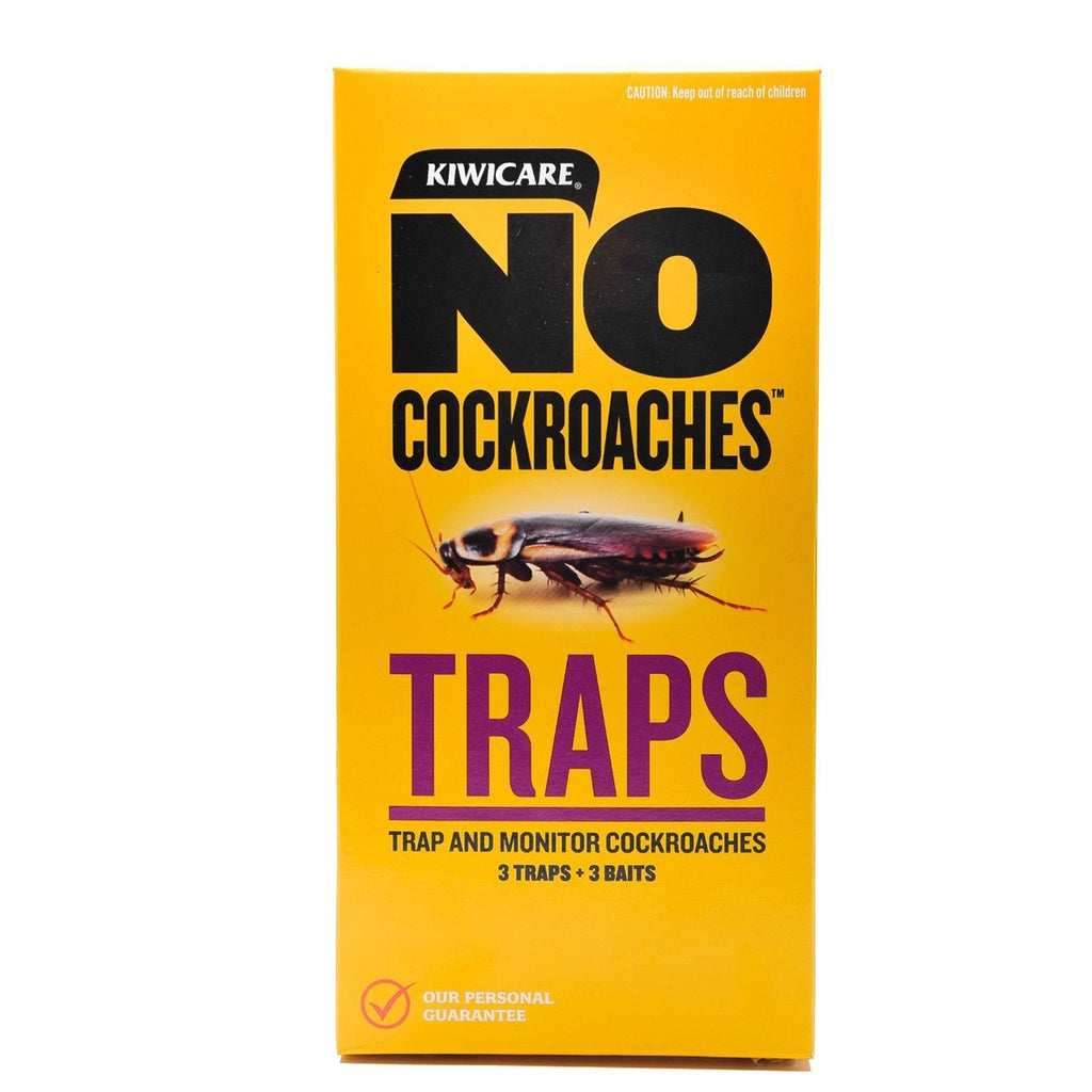 NO Cockroaches Traps 3 Pack