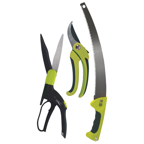 McGregor's Shears, Pruning Saw and Secateurs Set