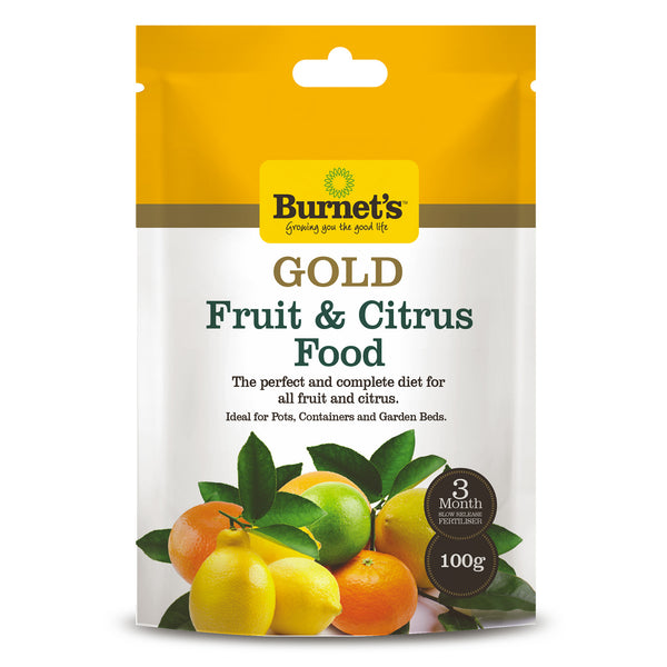 Burnet's Gold Citrus and Fruit Food 100 g - Fertiliser