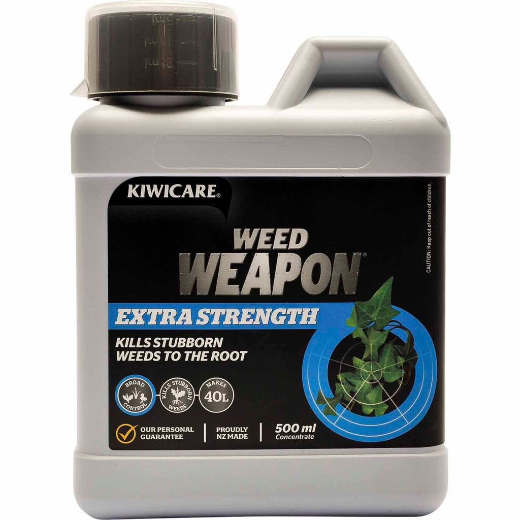 Kiwicare Weed Weapon Extra Strength Concentrate