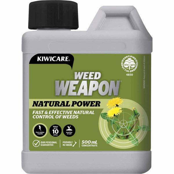 Kiwicare Organic Weed Weapon Natural Power Concentrate