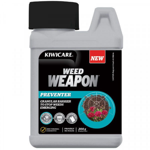 Kiwicare Weed Weapon Preventer Granular 'Weed Mat'