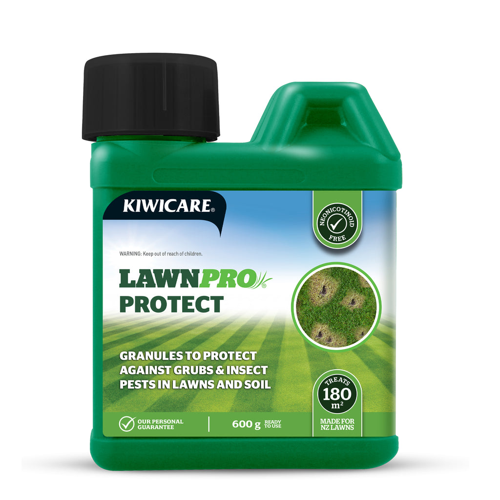 LawnPro Protect grass grub and Porina caterpillar control