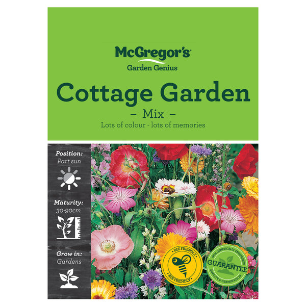 Garden Cottage Seed Mix - Flowers