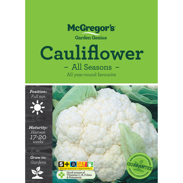 Cauliflower Seeds - All Seasons