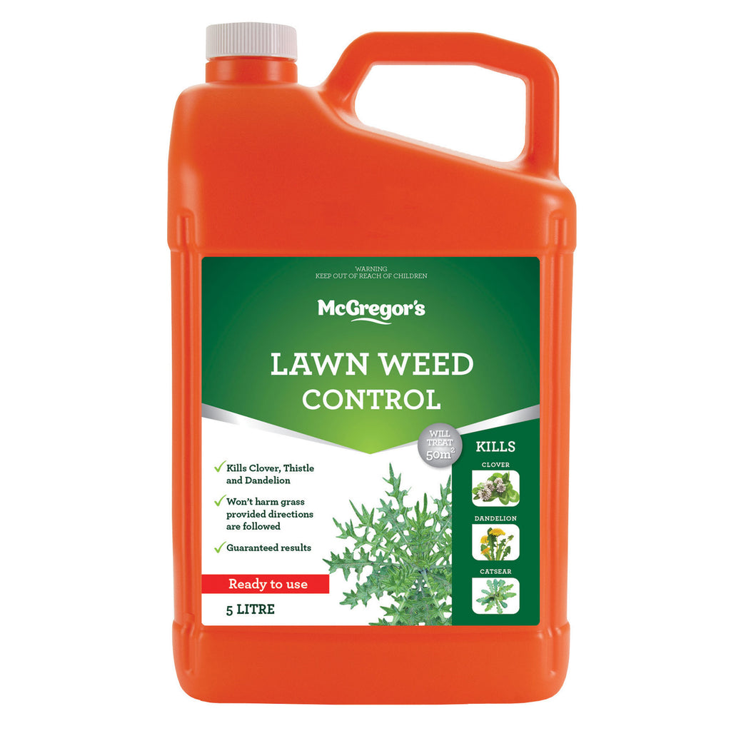 McGregor's Lawn Weed control 5 L Ready to Use