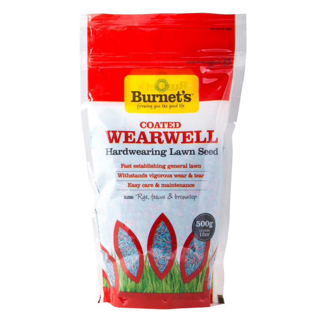 Burnet's Wearwell Coated Lawn Seed - Grass Seed