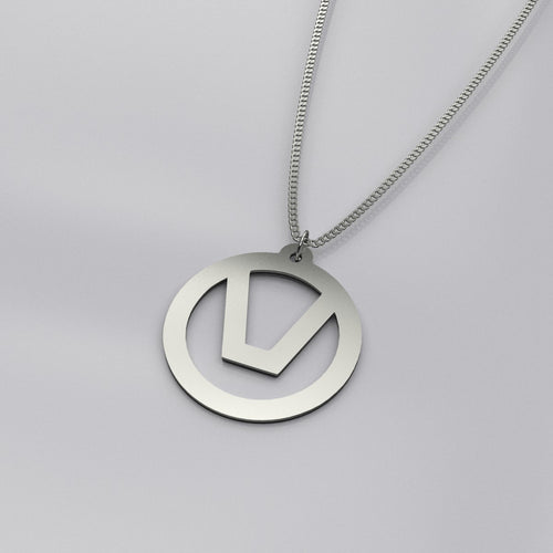 swinger symbol jewelry necklace pendant