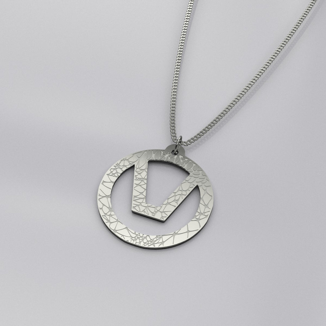 Organic Swinger Symbol Necklace