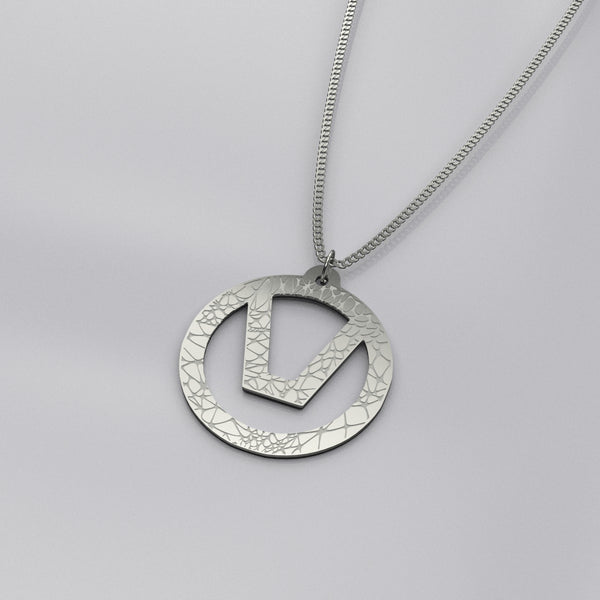 swinger symbol necklace jewelry organic
