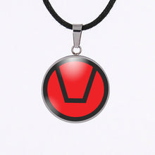 Laden Sie das Bild in den Galerie-Viewer, swinger symbol jewelry necklace pendant