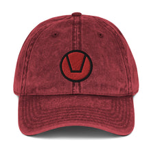 Load image into Gallery viewer, Swinger Symbol Vintage Cotton Twill Cap