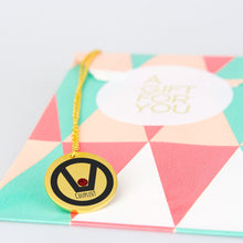 Load image into Gallery viewer, swinger symbol jewelry necklace pendant