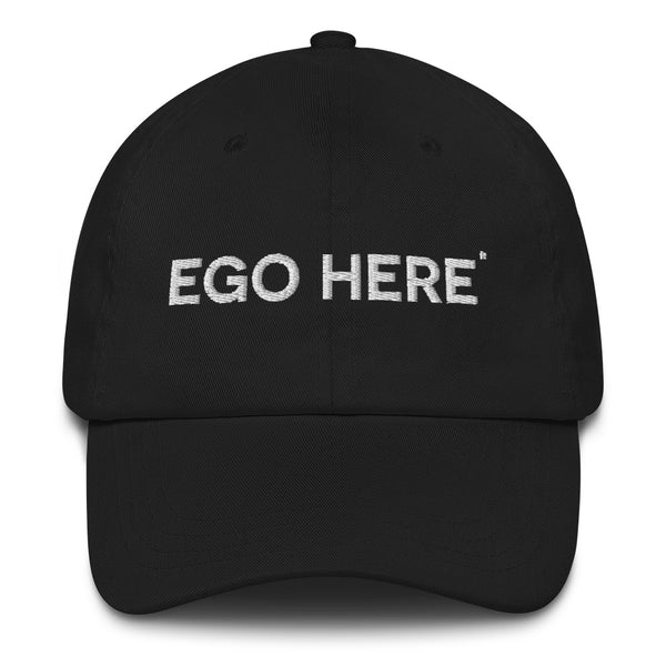 Big Ego Embroidered Dad Cap