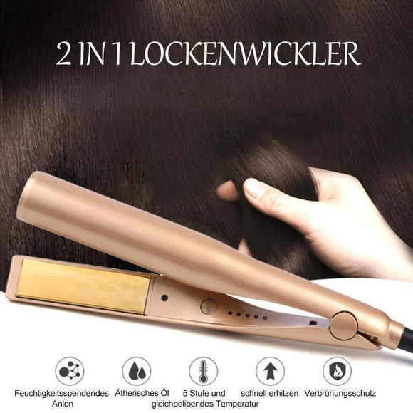 2 in 1 Lockenwickler