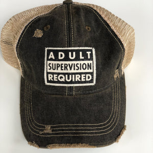 Adult Supervision Required Hat - Inspired Evanston