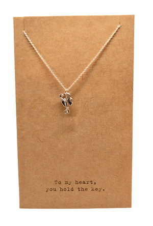 Open image in slideshow, Air Mail Charm Necklace - Scroll to view the 8 styles - Inspired Evanston