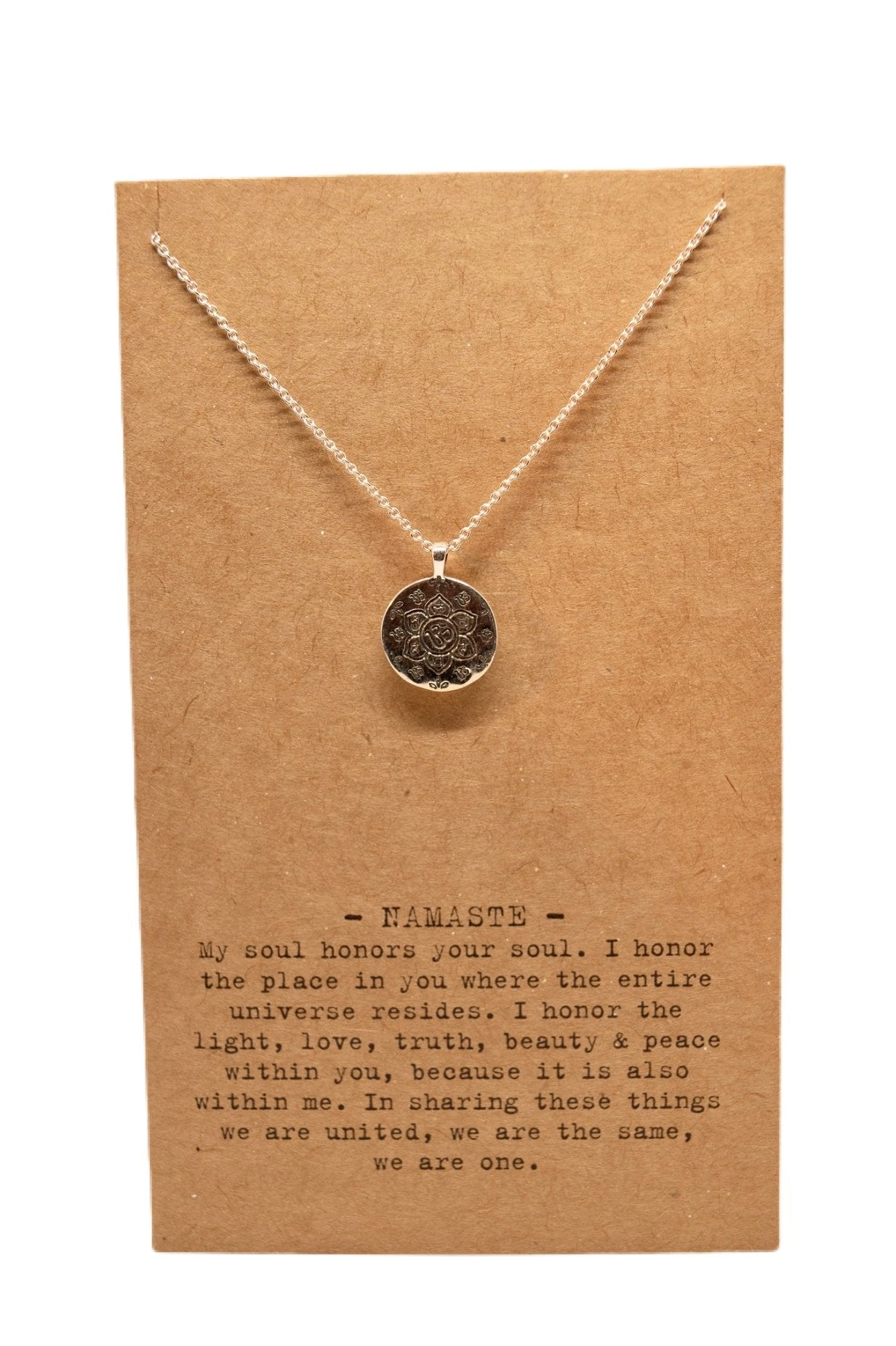 Air Mail Charm Necklace - Scroll to view the 8 styles - Inspired Evanston