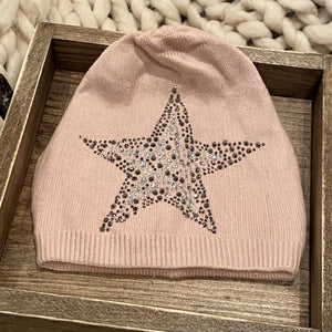 Open image in slideshow, Cashmere Blend Star Hat - Inspired Evanston