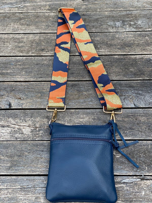 Open image in slideshow, Cross Body Purse - Blue - Scroll to view the 3 styles - Inspired Evanston