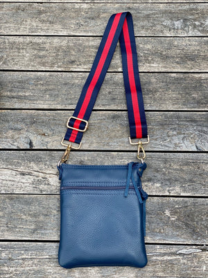 Cross Body Purse - Blue - Scroll to view the 3 styles - Inspired Evanston