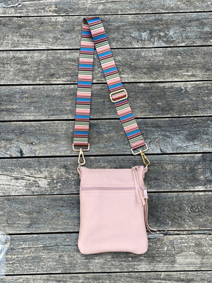 Cross Body Purse - Pink - Inspired Evanston