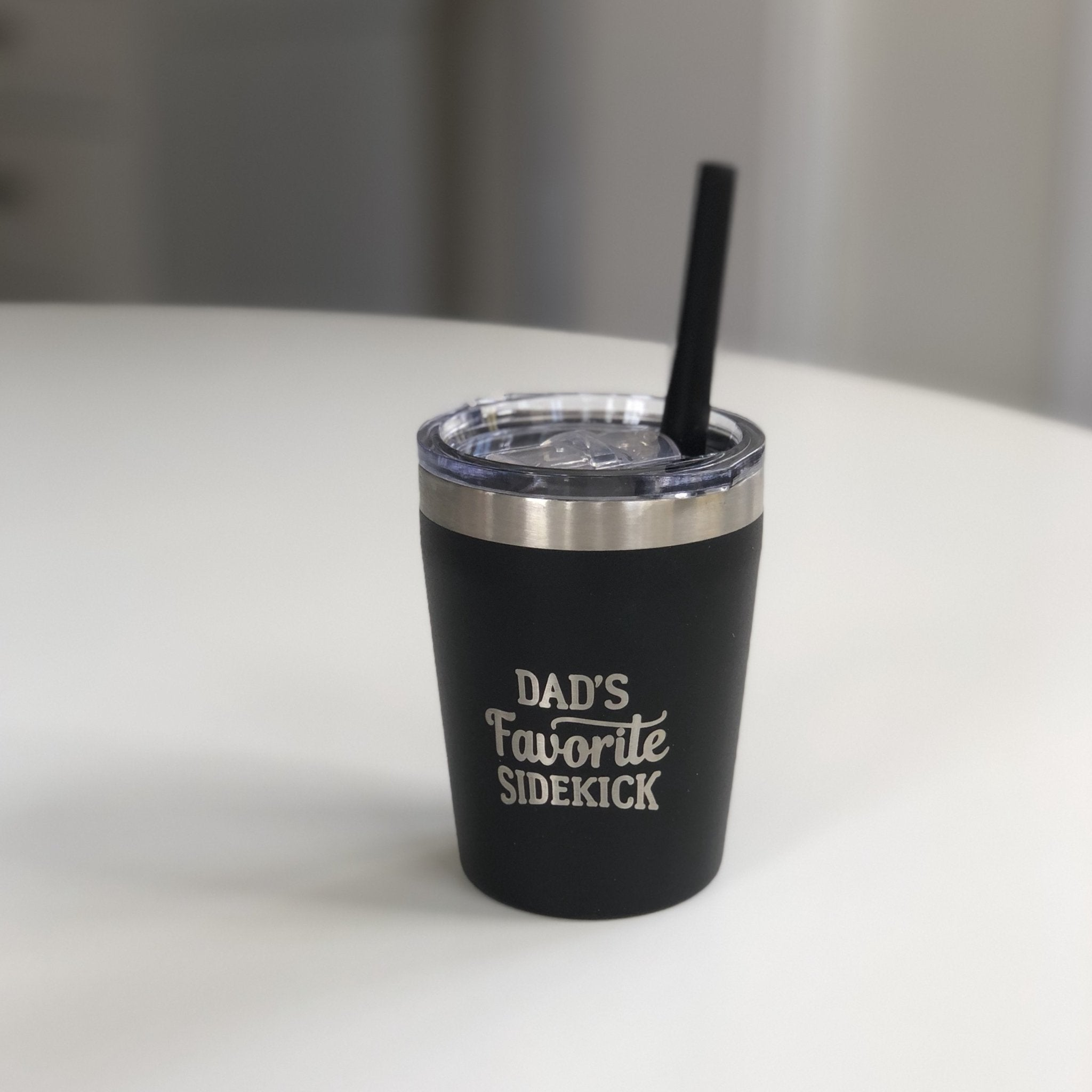 Dad's Favorite Sidekick Tumbler with Lid - Inspired Evanston