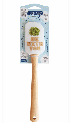 Food Pun Mini Spatula - Peas Be With You - Inspired Evanston