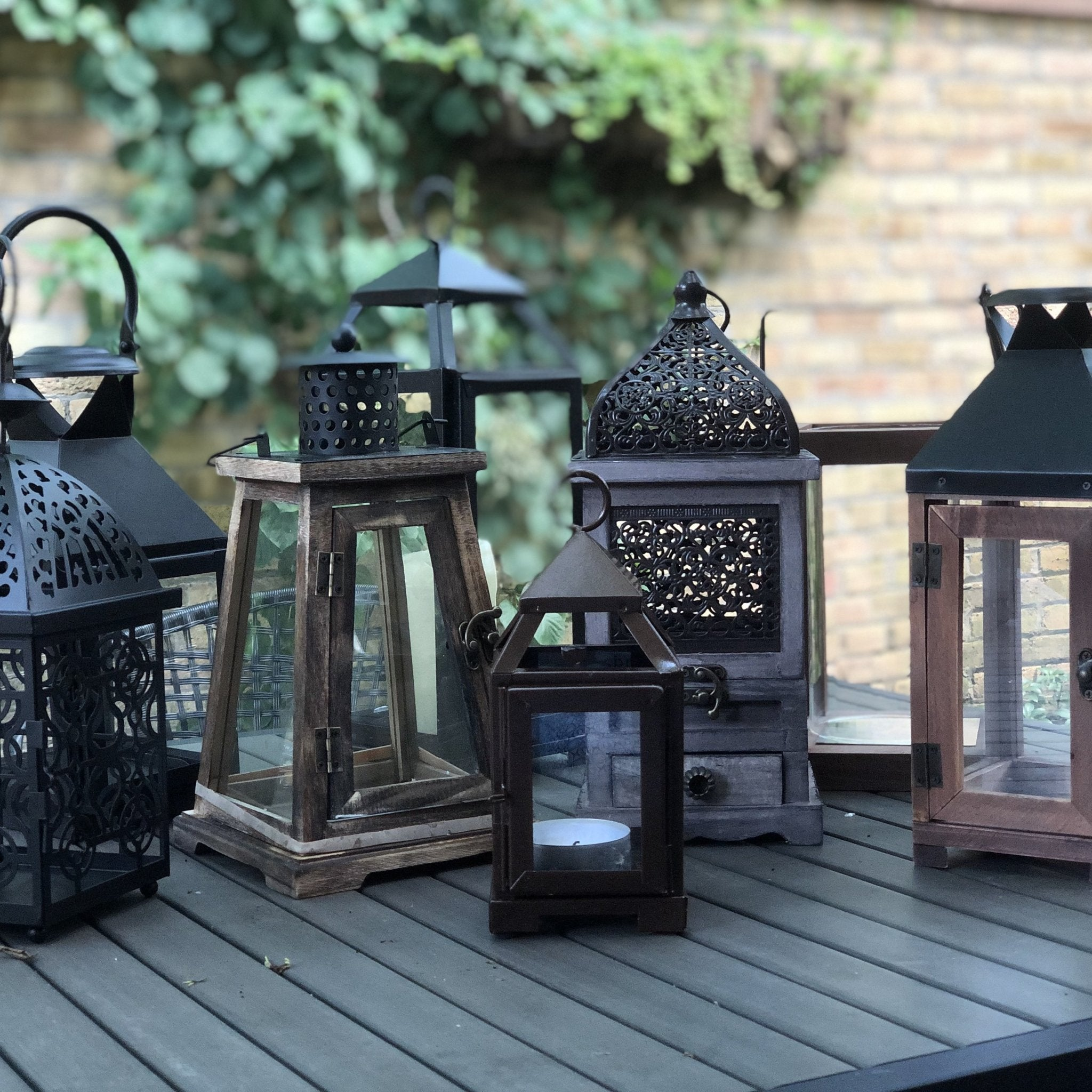 Mini Copper Lantern - Inspired Evanston