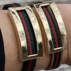 Narrow Designer Inspired Magnetic Bracelet - Inspired Evanston