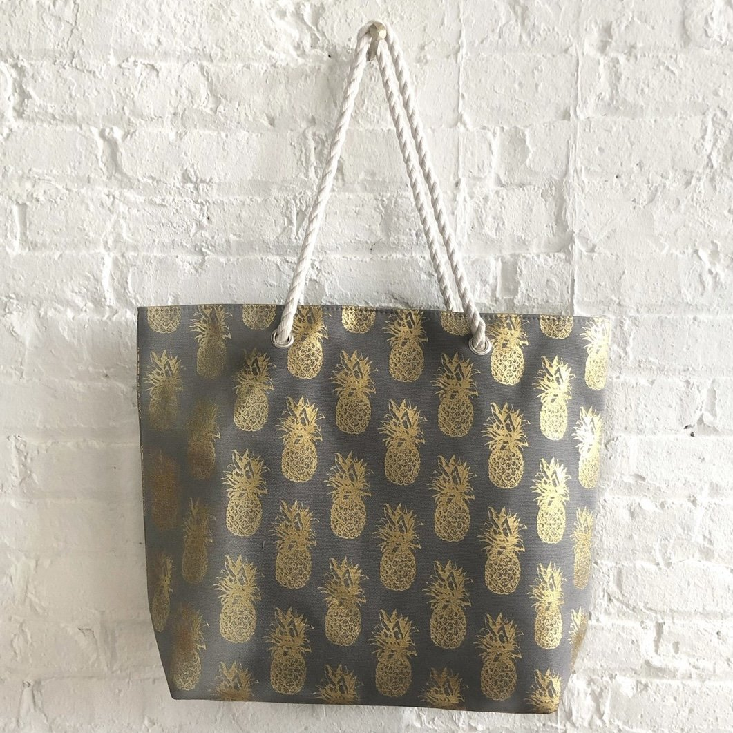 Pineapple Beach Bag - Inspired Evanston