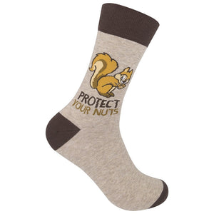 Protect Your Nuts Socks - Inspired Evanston