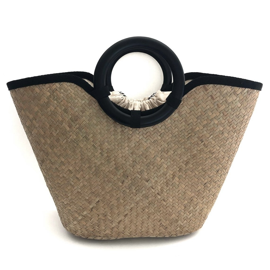 Rattan Bag with round handle - Inspired Evanston