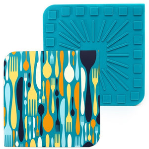 Silicone Trivet - Choose From 2 Different Designs - Inspired Evanston